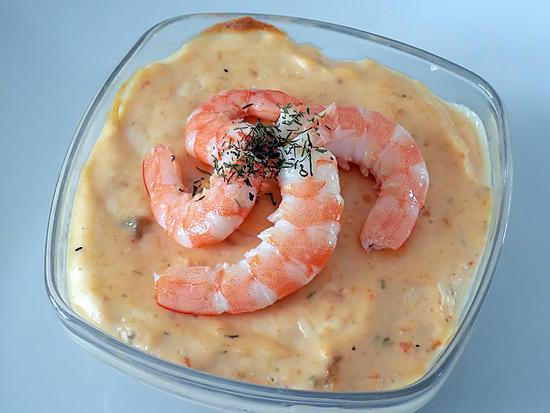 recette Terrine de saumon et crevettes (compatible dukan)