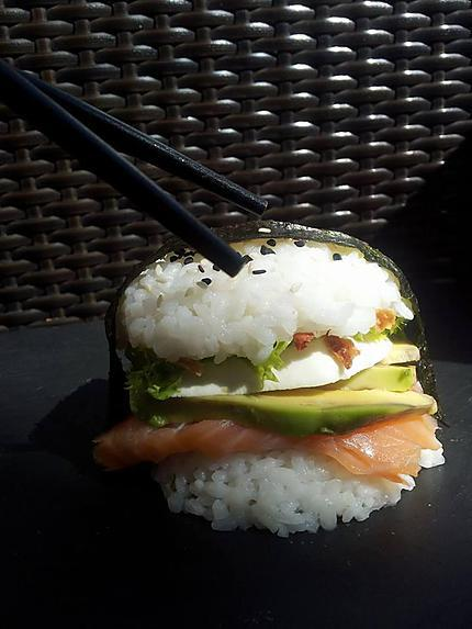 recette Sushi Burger