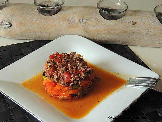 recette Légumes en bolognaise