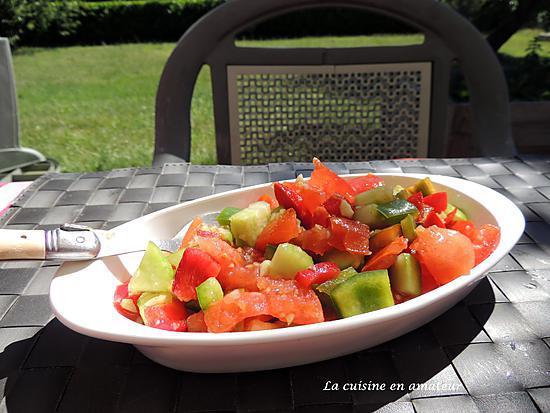 recette Salade fraîcheur