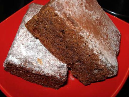 recette Gâteau tout chocolat de Maria