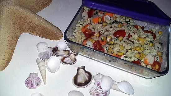 recette de salade de coquillettes pique nique. Black Bedroom Furniture Sets. Home Design Ideas