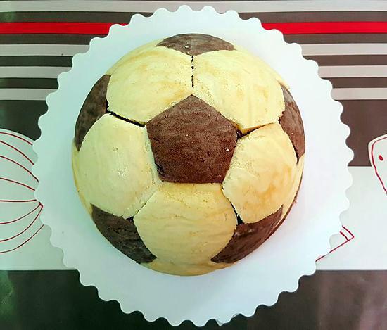 recette Le gâteau des supporters