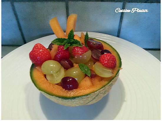recette Coupe de fruits frais au Porto