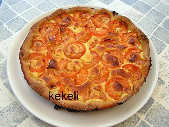 Recette de tarte aux abricots par kekeli - Recette de tarte aux abricots ...