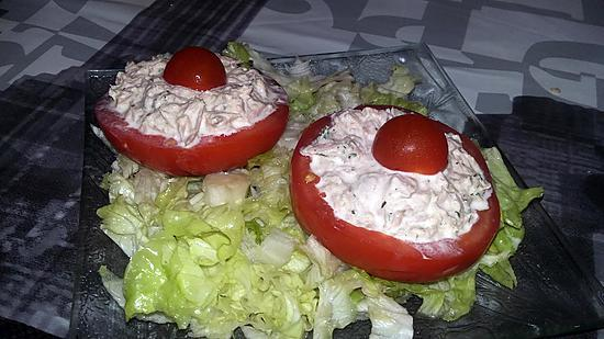 recette Tomates farcis a la sardine
