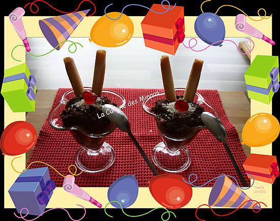 recette Mousse au chocolat sans sucre ajouté