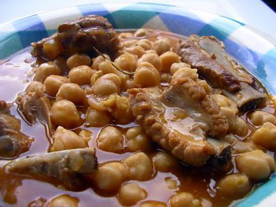 recette ragout de pois chiches a l'espagnole