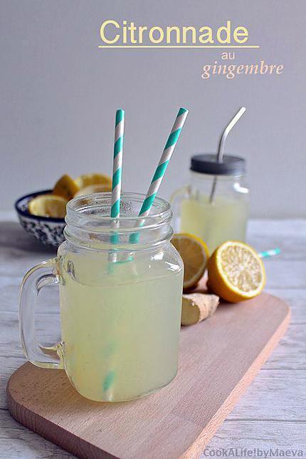 recette Citronnade au gingembre