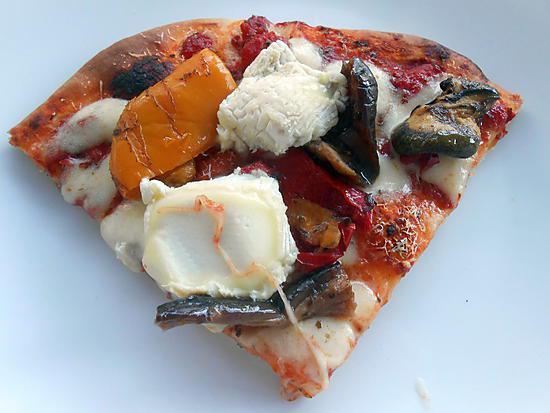 Recette de pizza legumes grilles et crottin de chavignol - Recette legumes grilles au four ...