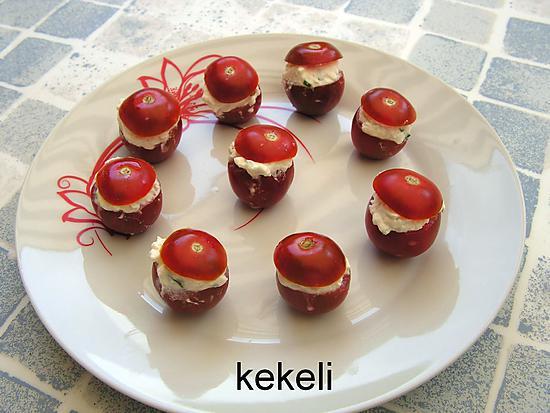 recette Tomates farcies à la feta
