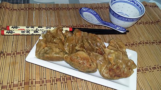 recette Raviolis chinois Gyoza poulet citronelle