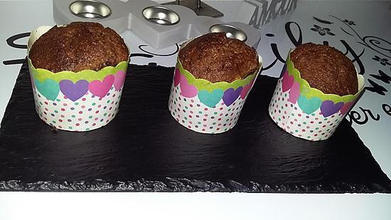 recette Petits gâteau au chocolat banane coco
