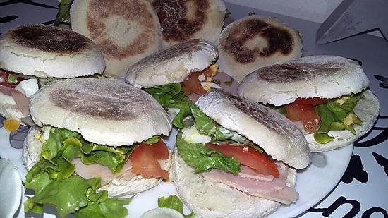 recette Sandwichs batbout maison