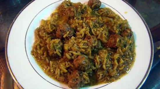 recette Sherwa-e-shibit (Soupe afghane épaisse aux boulettes et à l'aneth)