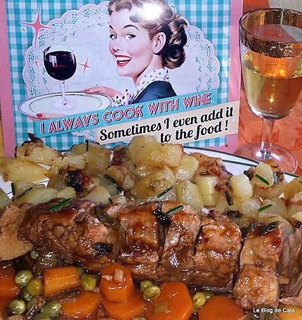 recette Filet mignon de porc au vinaigre balsamique