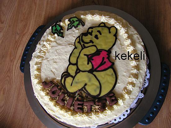 recette de gâteau anniversaire pour les 3 ans de juliette