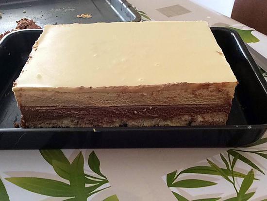 Recette De Bavarois Au Caramel Beurre Sale Mousse De Chocolat Au