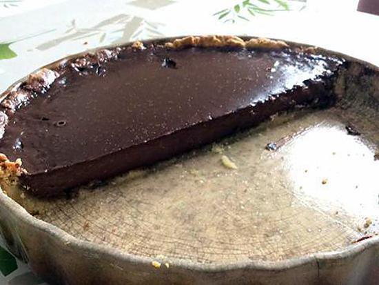 recette Tarte aux chocolats