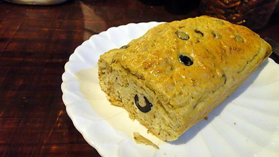 recette Cake aux olives
