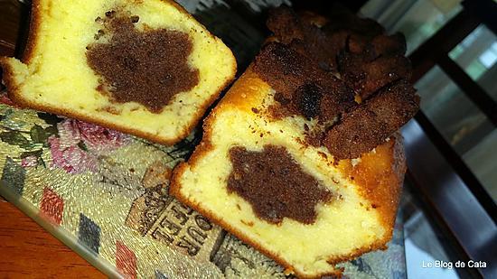 recette de cake au yaourt fleur surprise au chocolat. Black Bedroom Furniture Sets. Home Design Ideas