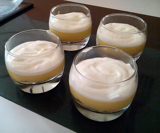 recette Tarte au citron en verrines