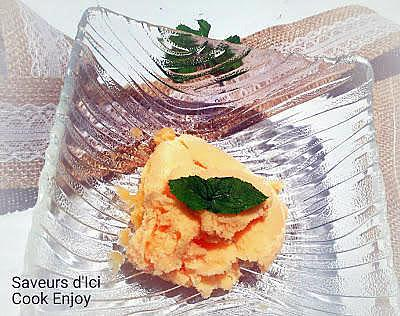 recette THERMOMIX : Sorbet Melon - Menthe