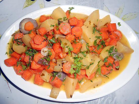 recette de carottes vichy pommes de terre. Black Bedroom Furniture Sets. Home Design Ideas