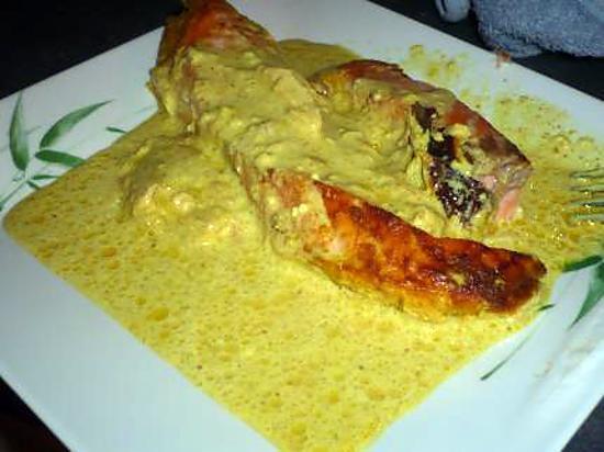 Recette de pave de saumon curry - Comment cuisiner un pave de saumon ...
