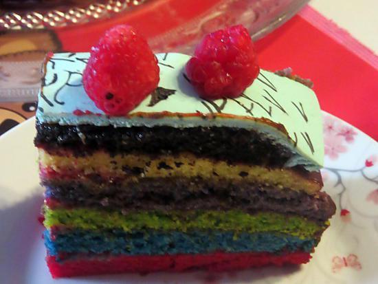 Colorant Alimentaire Vahine Rainbow Cake
