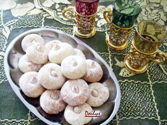 recette Ghriba aux amandes