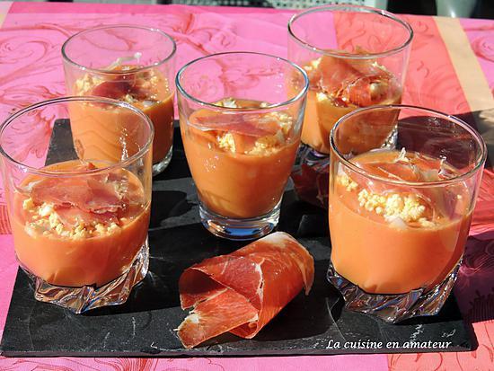 recette de salmorejo ou soupe froide de tomates. Black Bedroom Furniture Sets. Home Design Ideas