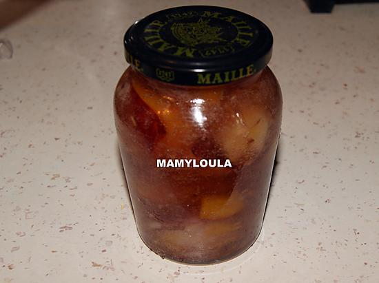 recette Confiture de nectarine au micro onde