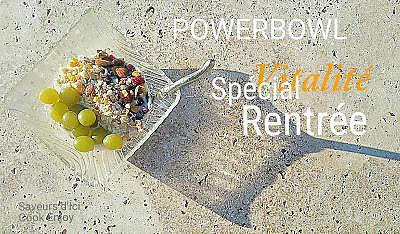 recette Power Bowl aux couleurs de la rentrée pleine de vitalité