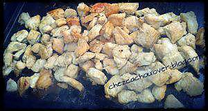 recette Marinade de poulet à la plancha