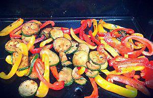 recette Légumes du soleil marinés et cuits à la plancha