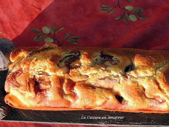 recette Cake aux figues fraîches