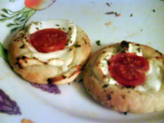 recette Tartelette tomate chèvre