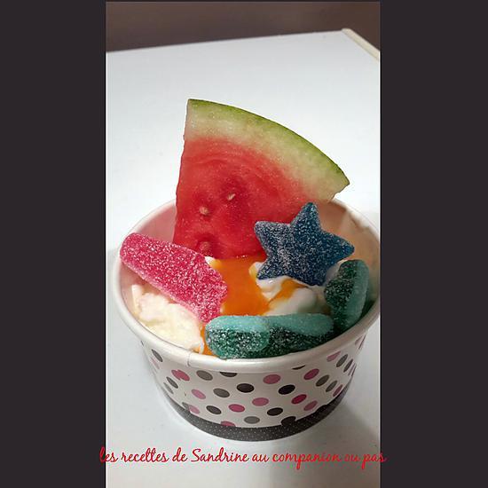 recette de frozen yogurt. Black Bedroom Furniture Sets. Home Design Ideas
