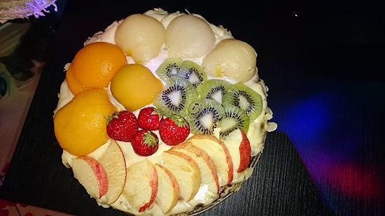 recette Gateau léger aux fruits