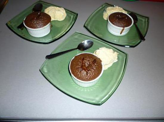 recette Coulants au chocolat