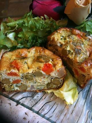 recette FLAN  DE  MACEDOINES