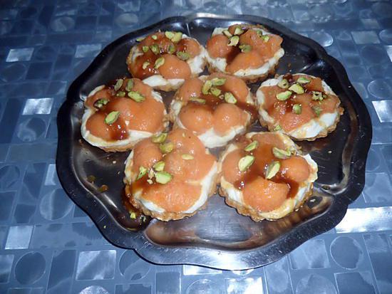 recette Tartelettes melon mascarponne
