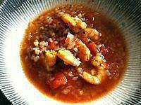 recette Soupe konjac et crevettes (compatible dukan)