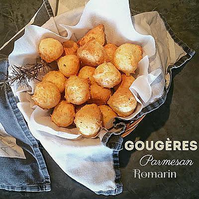 recette Thermomix : Gougères Parmesan Romarin