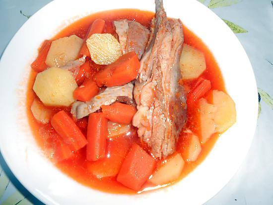 recette de soupe d 39 agneau carottes pommes de terre. Black Bedroom Furniture Sets. Home Design Ideas