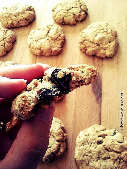 recette de cookies au chocolat par chezcachou. Black Bedroom Furniture Sets. Home Design Ideas