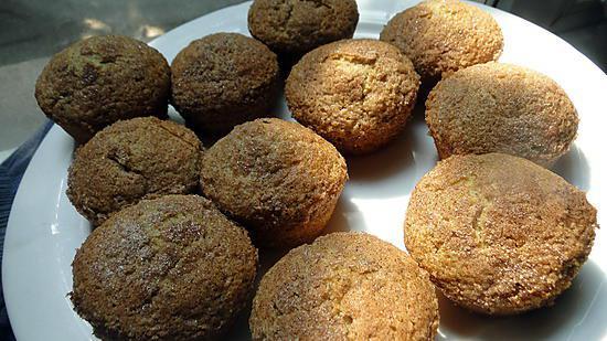recette de muffins la compote de pommes. Black Bedroom Furniture Sets. Home Design Ideas