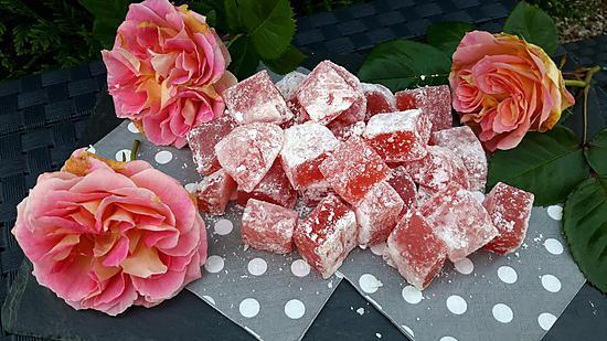 recette Loukoums à la rose