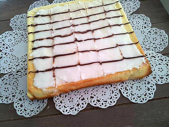 Recette De Gateau Au Citron Et Son Glacage Facon Mille Feuille